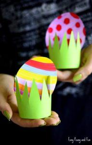 Πασχαλινές κατασκευές για παιδιά με απλά υλικά-Ιδέες